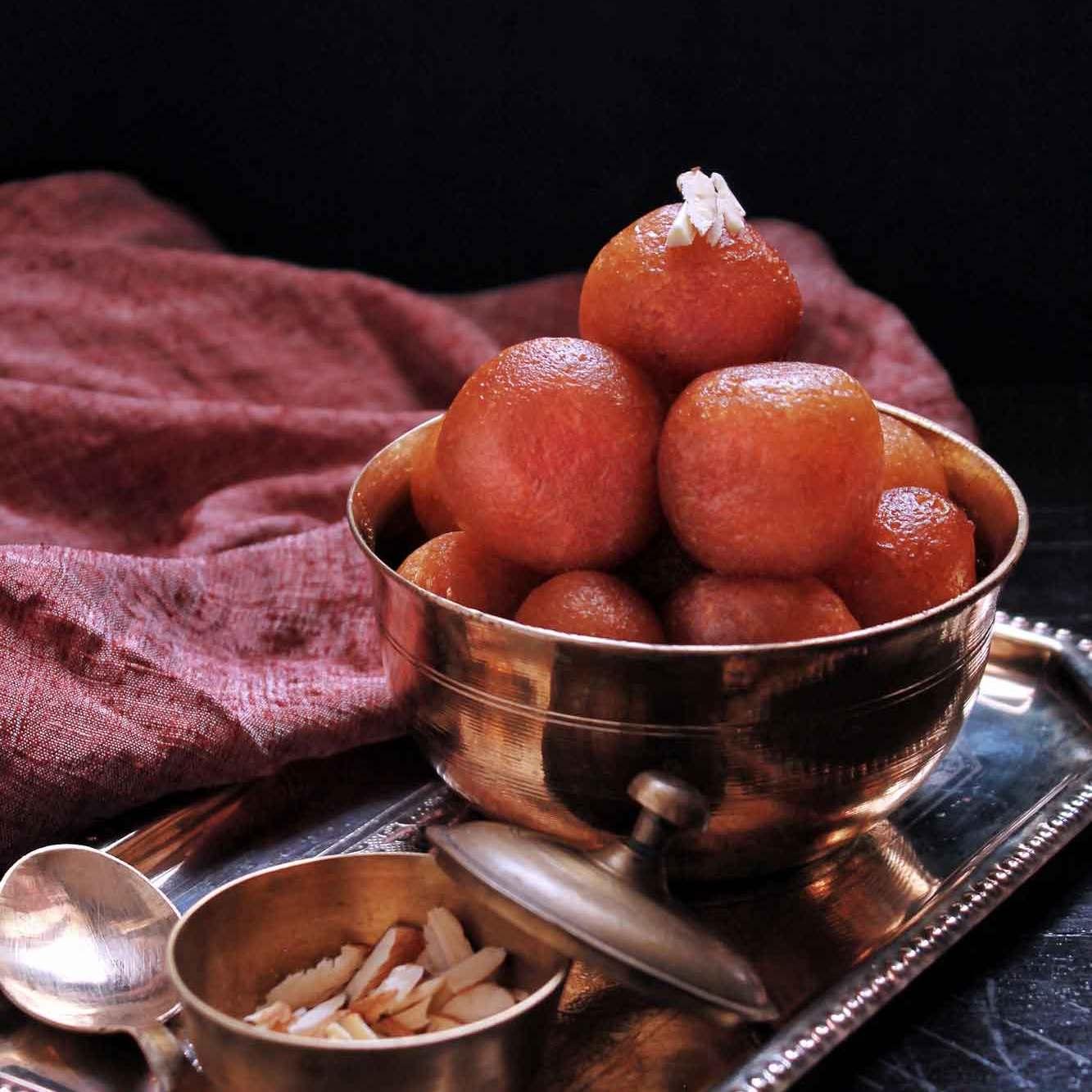 Instant Gulab Jamun recipe