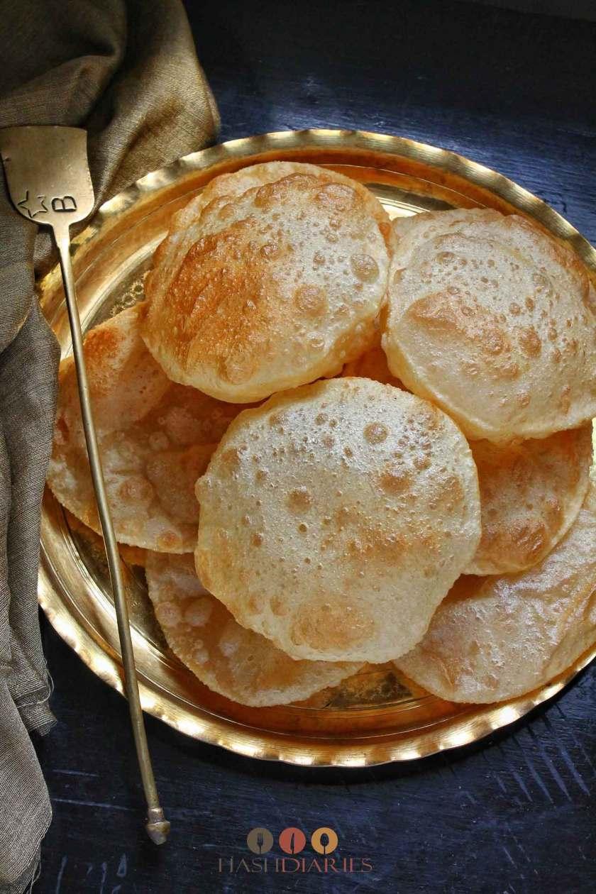 how to make bengali style luchi