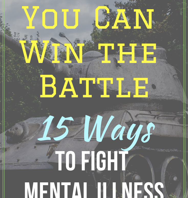 You can fight mental illness successfully. Learn 15 ways that you can improve your bipolar battle. | #bipolar #mentalillness #patientstory #depression #anxiety