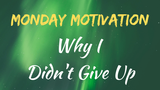 Often the hardest thing is to keep going, especially when everything seems to be stacked against you. Read why one blogger hasn't given up on the dream of making his blog successful.   #inspiration #motivation #quotes