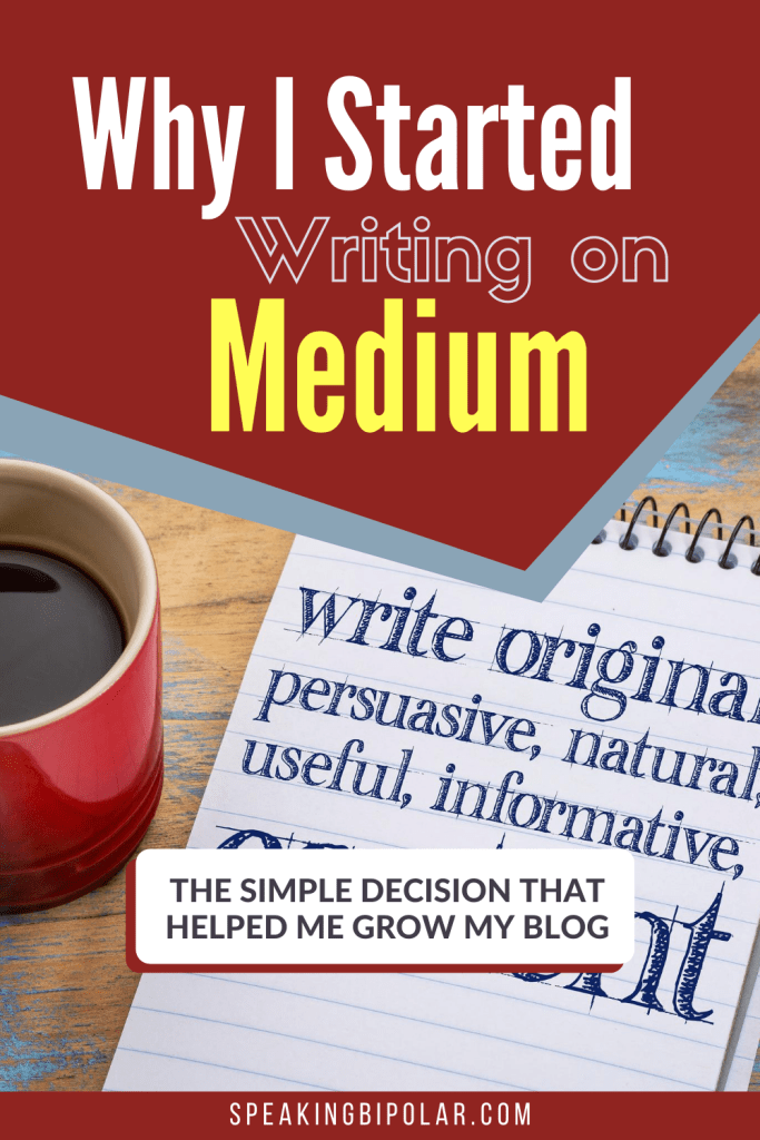 The reason I started writing on Medium.com and how it's helped my blog grow. | #medium #blogging #bloggingtips