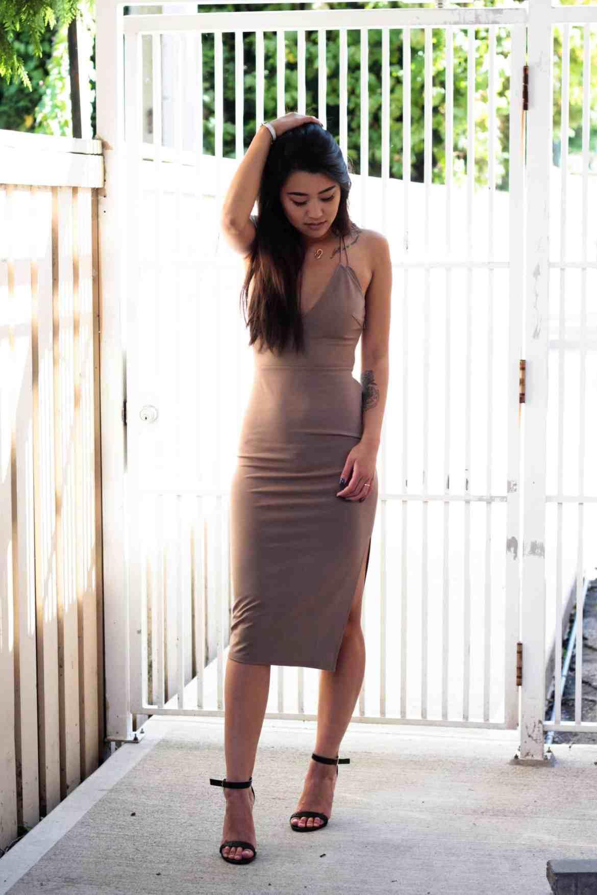 NAKD nude dress