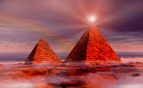 /*\ World's Pyramids Beaming Energy To Mysterious Space Cloud /*\ (1/3)