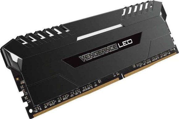 The Corsair Vengeance White LED 32GB stick is a prime example of a gamer-friendly RAM that gives amazingly high speeds. What games need RAM more than CPU or GPU?