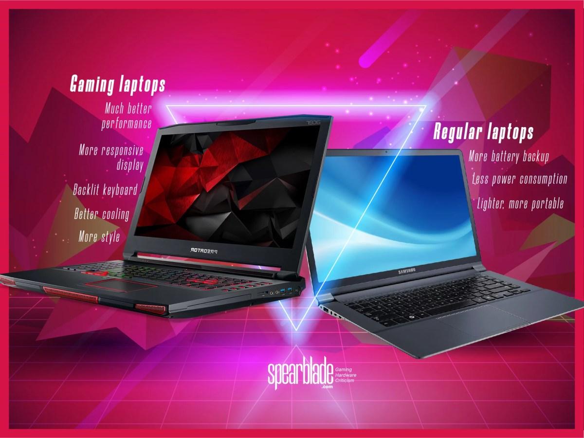 Gaming laptops vs normal laptops