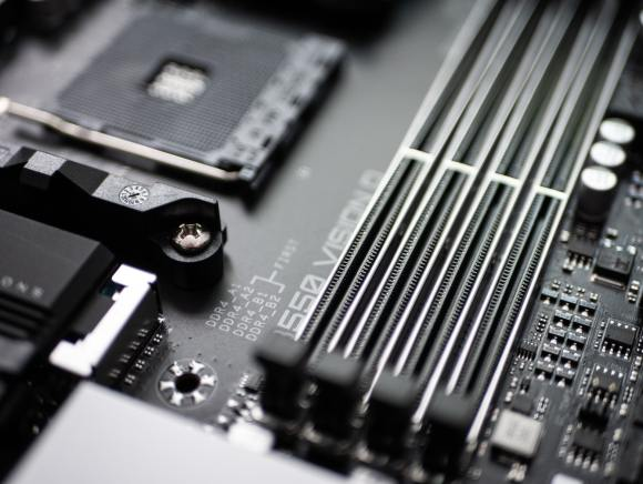 memory slots on a motherboard