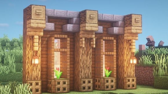 a wall in minecraft