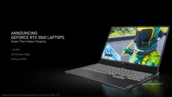 geforce rtx 3060 laptops