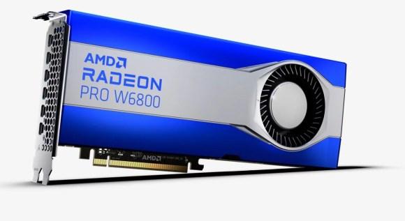 amd radeon pro w6800 workstation gpu