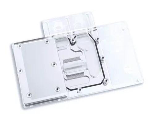 Bykski XFX R9 RX470/480/570/580 Full Coverage GPU Water Block - Clear (A-XF48BW-X)