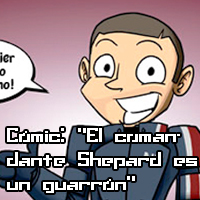 Cómic: «El comandante Shepard es un guarrón»