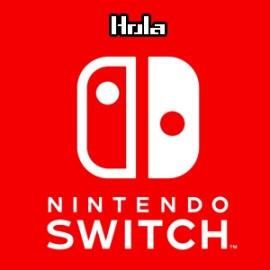 Hola Nintendo Switch