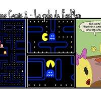 """Cómic: """"La gula de PacMan"""""""