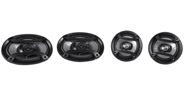 4 X Pioneer TS-165P 2-Way Car Audio Speakers
