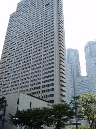 Keio Plaza Hotel där vi bodde i Tokyo.