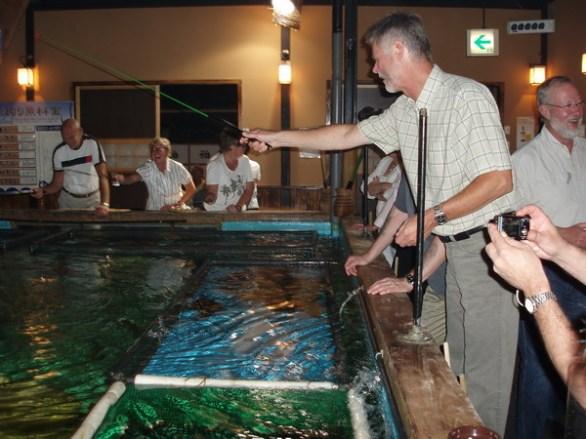 Om fisken som serverade inte räckte till var det bara att börja fiska.