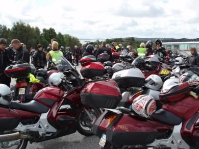 Uppsittning och fortsatt färd via Orust, Uddevalla, Ljungskile till Lilla Edet.
