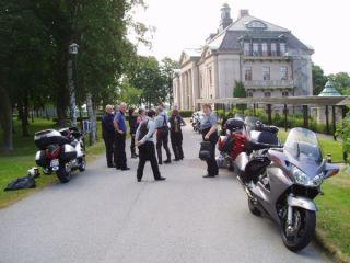 Framme vid Örenäs slott.
