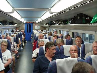 JR Bullet Train, höghastighetståg in till Tokyo.