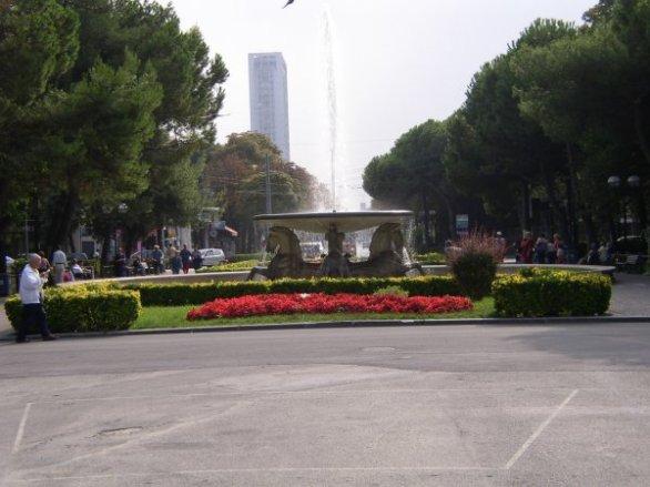 Fellini-platsen i Rimini