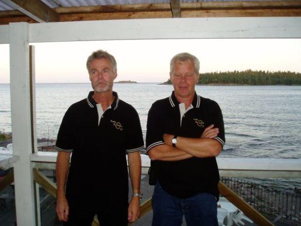 Håkan och Rolf.