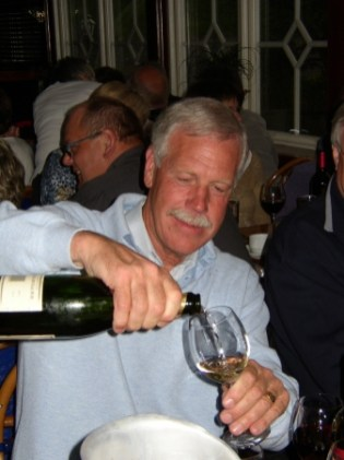 Fyller man 60 skall det vara champagne i glaset