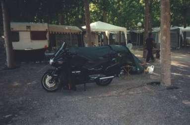 Camping mellan Benidorm och Les