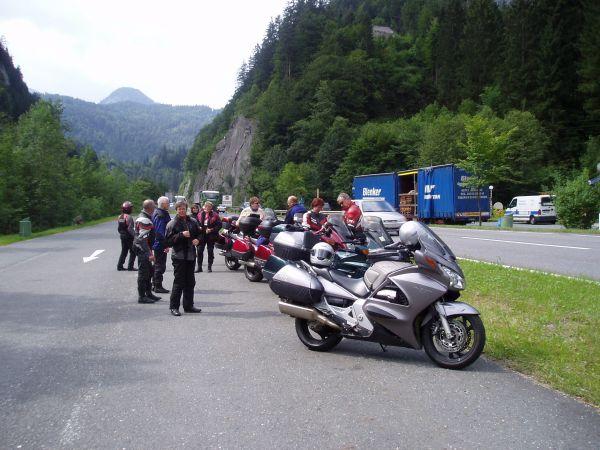 Kort bensträckare på väg mot Berchtesgaden.