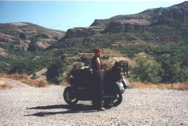 På väg upp i Pyreenerna