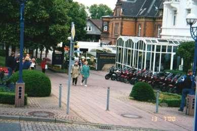 Pannorna utanför Treff Hotel Quellenhof i Bad Wildungen.