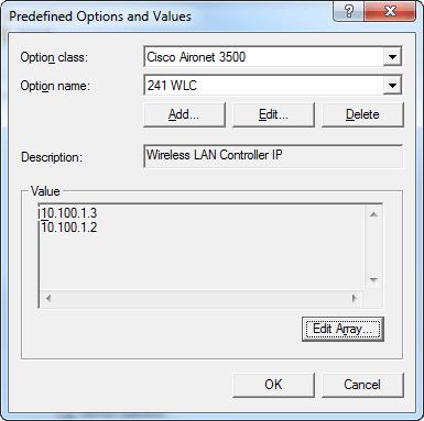 Konfiguracja i ustawianie opcji 43/241 dla access pointów Cisco