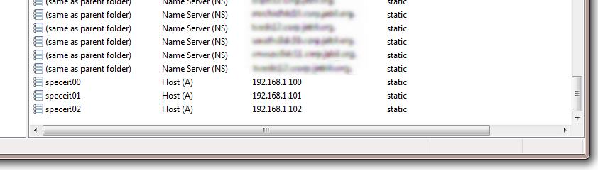 DNS console filter 3b