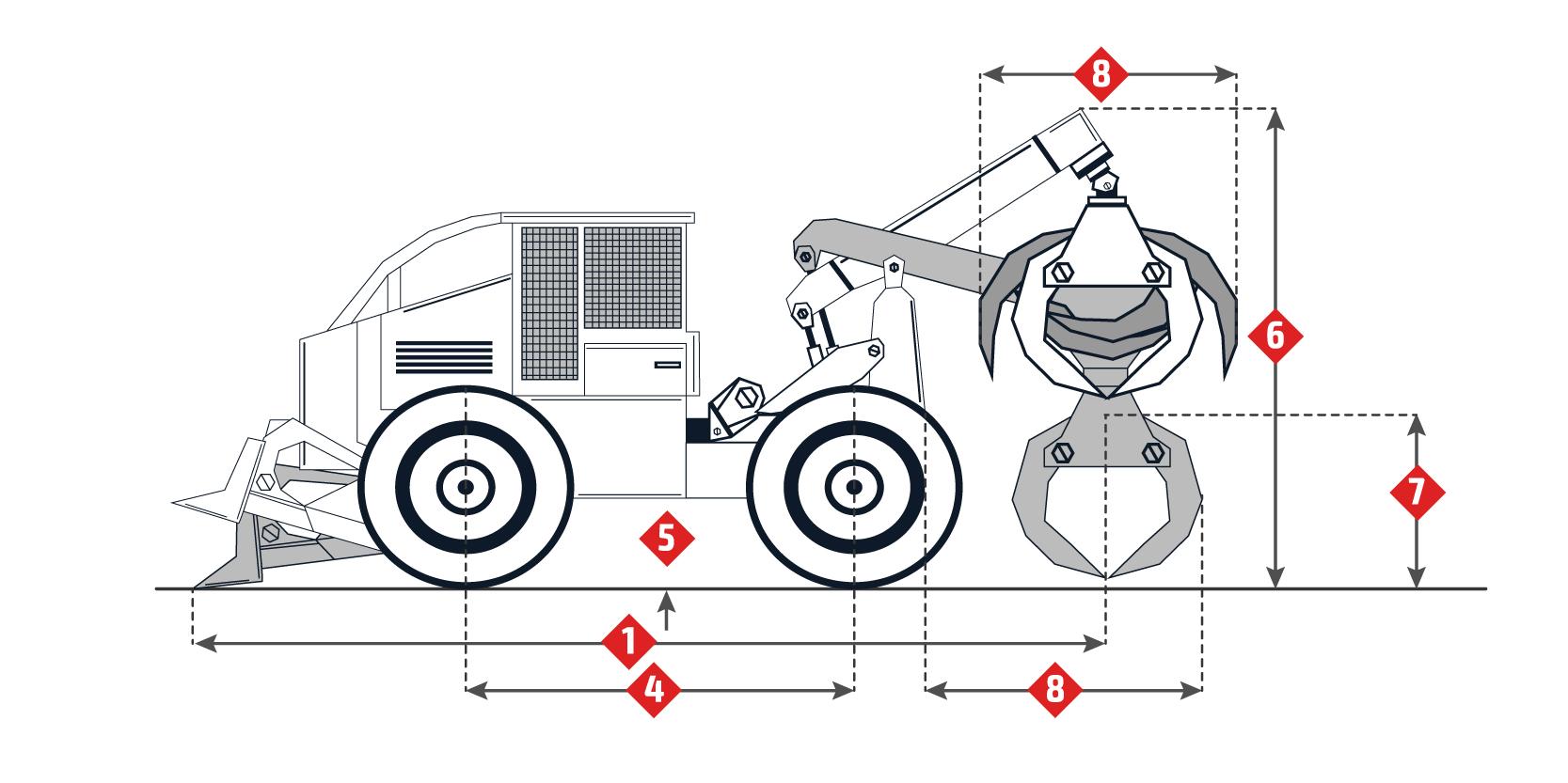 Caterpillar 518 Specifications Skidding Tractor Skidder