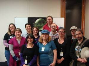 SpecficNZ Committee Members Old and New at Au Contraire 2013