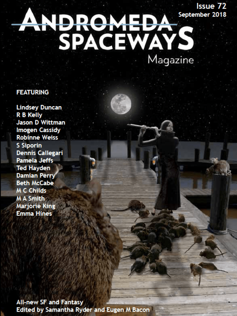 Lexicon Winner Published in Andromeda Spaceways