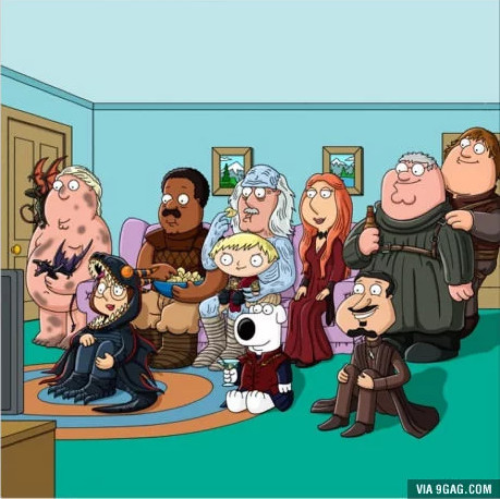 Family Guy - Game of Thrones Mashup