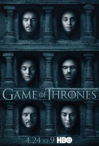 Game of Thrones Season Six Official Poster