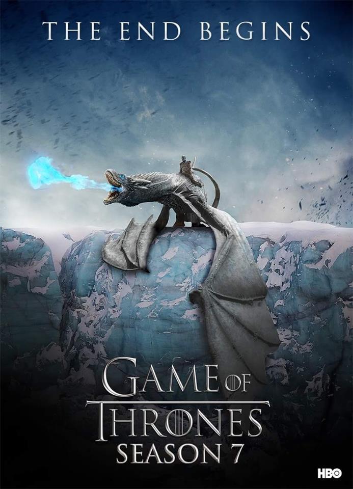 Season 7 Ice Dragon Poster