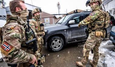 Marinejegerkommandoen in Afghanistan during Operation Enduring Freedom