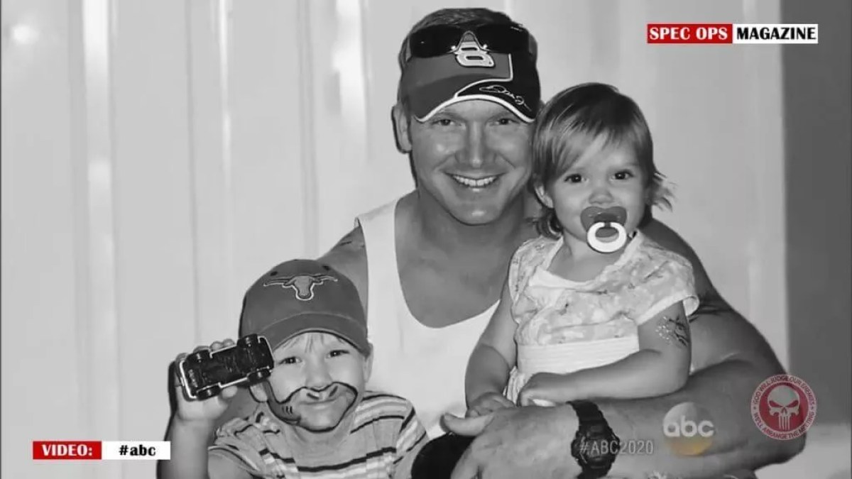 Chris Kyle was a husband and father