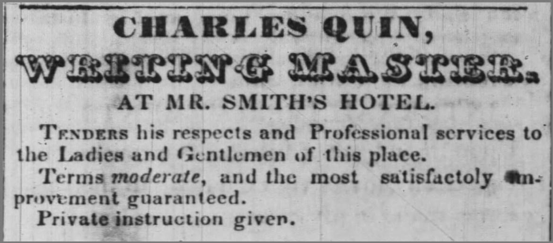 Writing master ad Ash News 12 6 1844.jpg