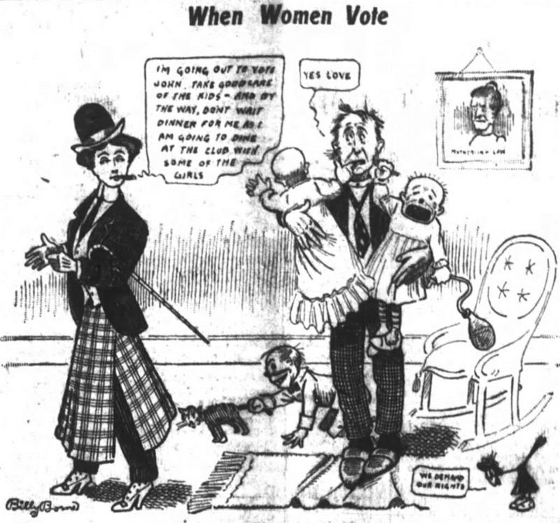 women's suffrage borne