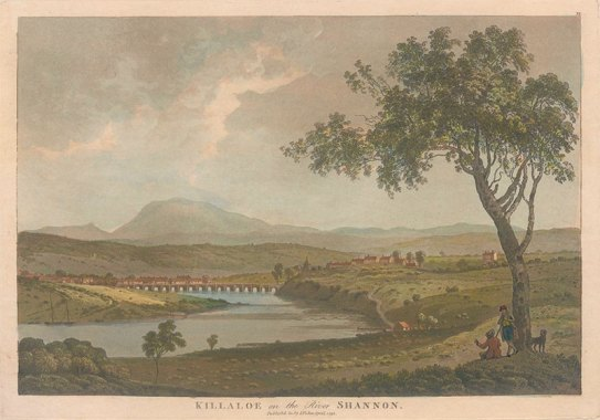 View of Killaloe, Co Clare