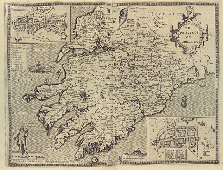 Map of Munster, 1612