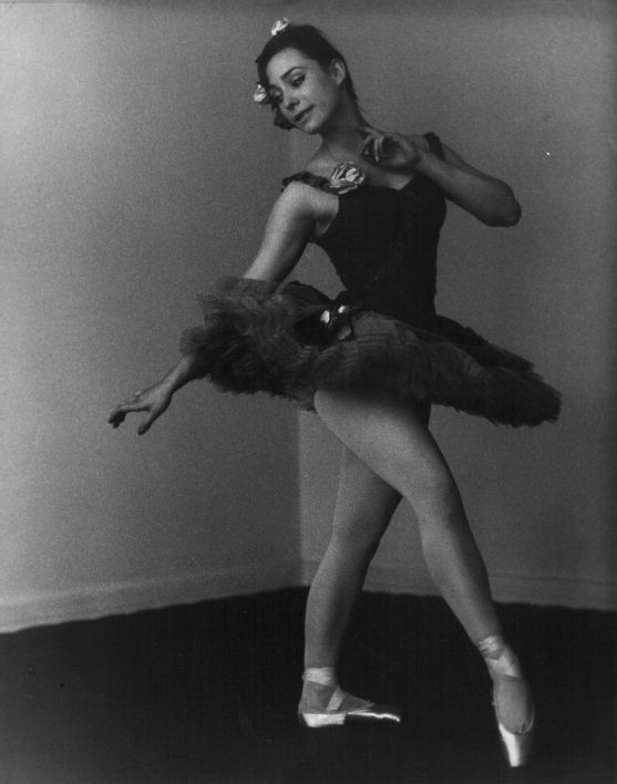 Rosemarie Cockayne as a ballerina in the 1960s