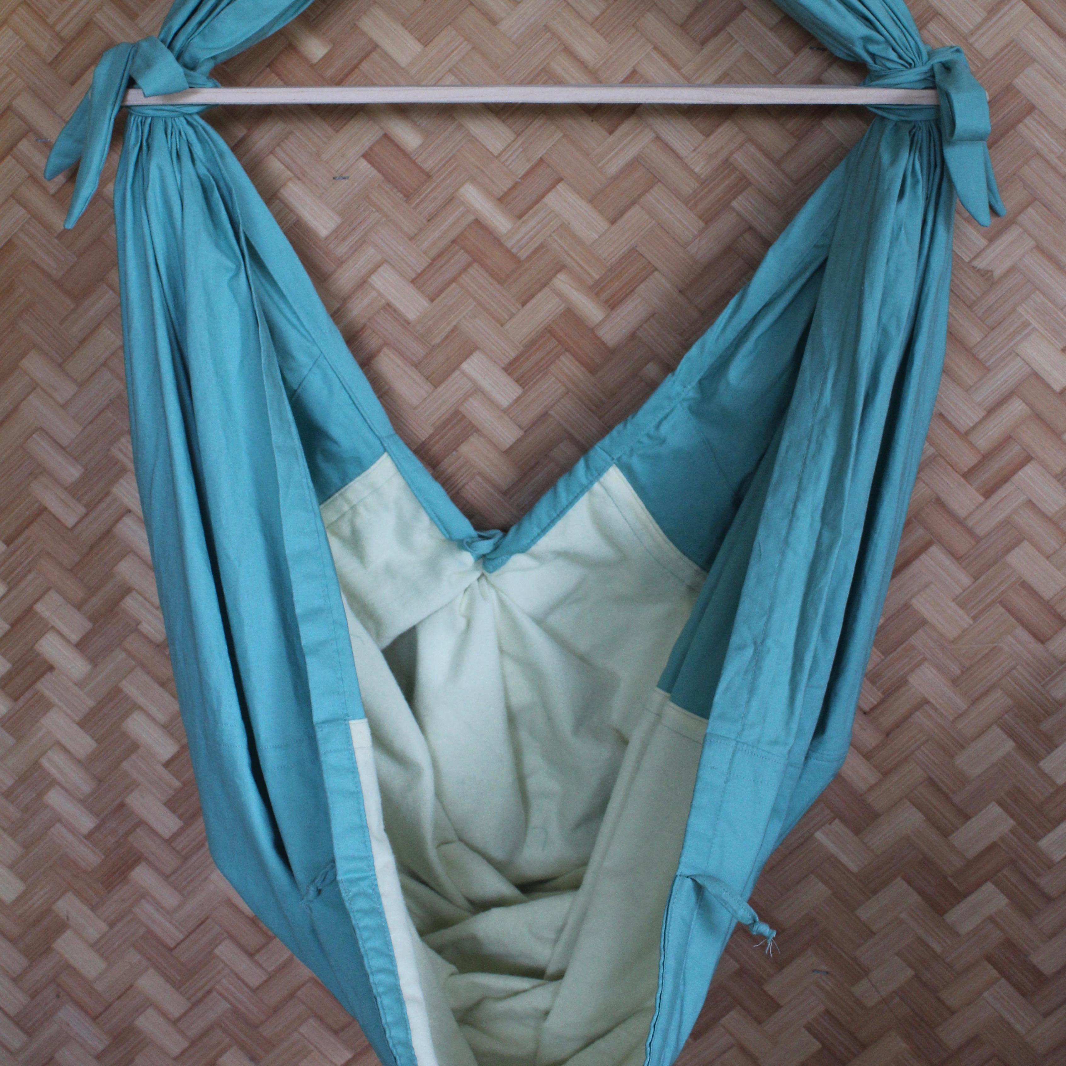 Sage Infant Hammock Grey Stars Flannel Special Delivery