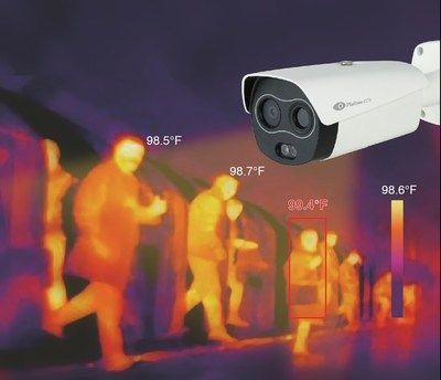 Thermal Imaging and Fever Detection CCTV