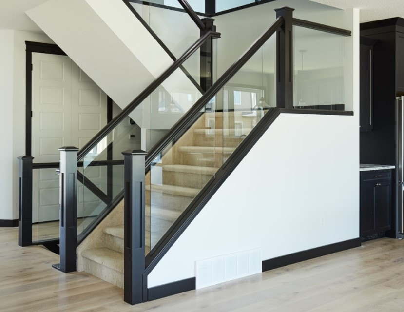5 Things You Need To Know About Glass Railing Specialized Stair | Wooden Stair Railing With Glass | Custom | Balcony Wooden | Detail | Oak | Wood Treads