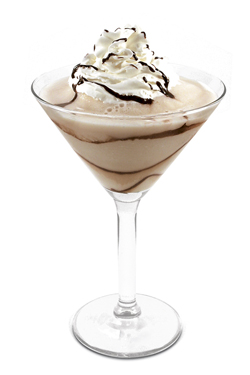 A frozen Mudslide...delicious