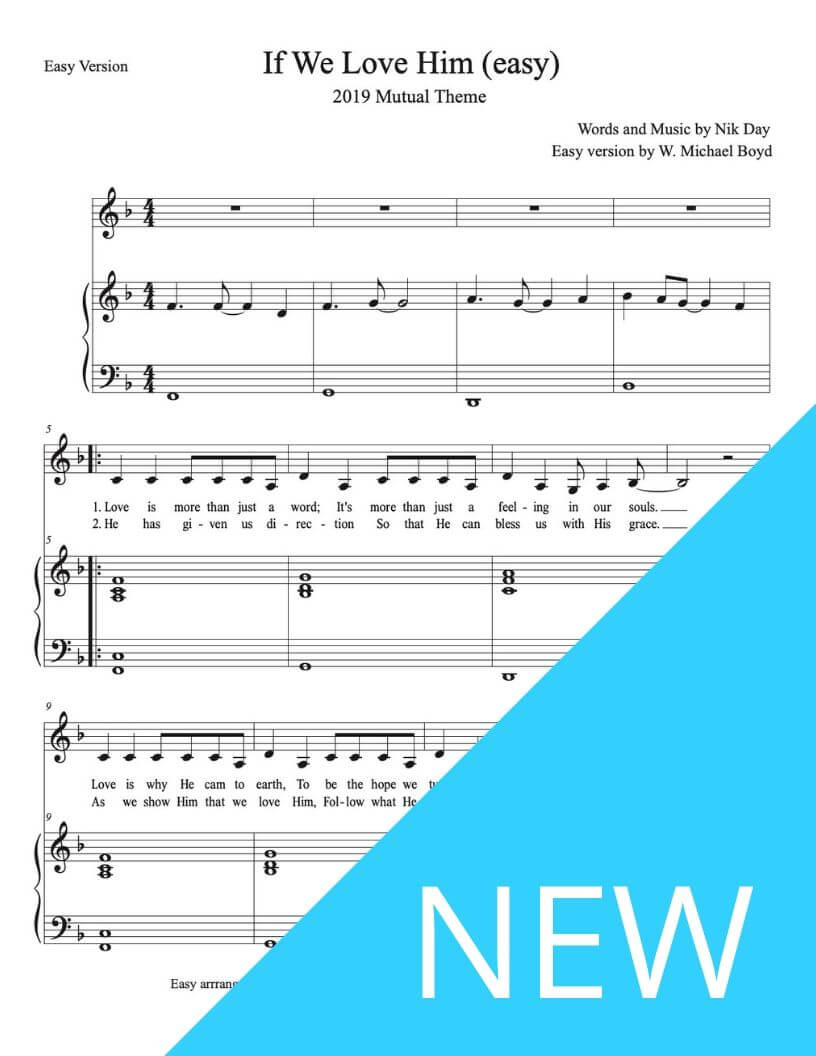 Sheet Music - Hymns Sheet music